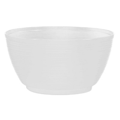 "12"" Dura Cotta Plant Bowl Planter White - Bloem"