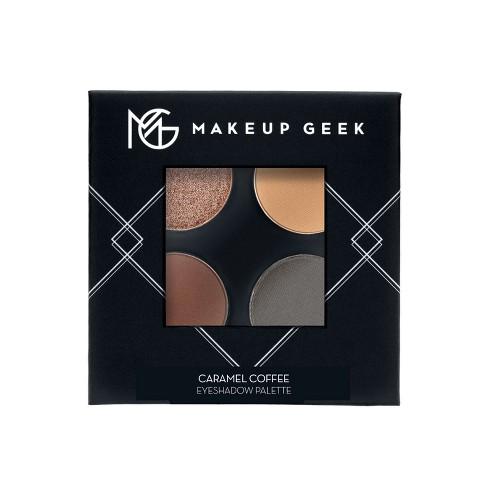 Makeup Geek Eyeshadow Palette Four Full Size Pans Caramel Coffee Nude/Grey - 7.2g - image 1 of 4