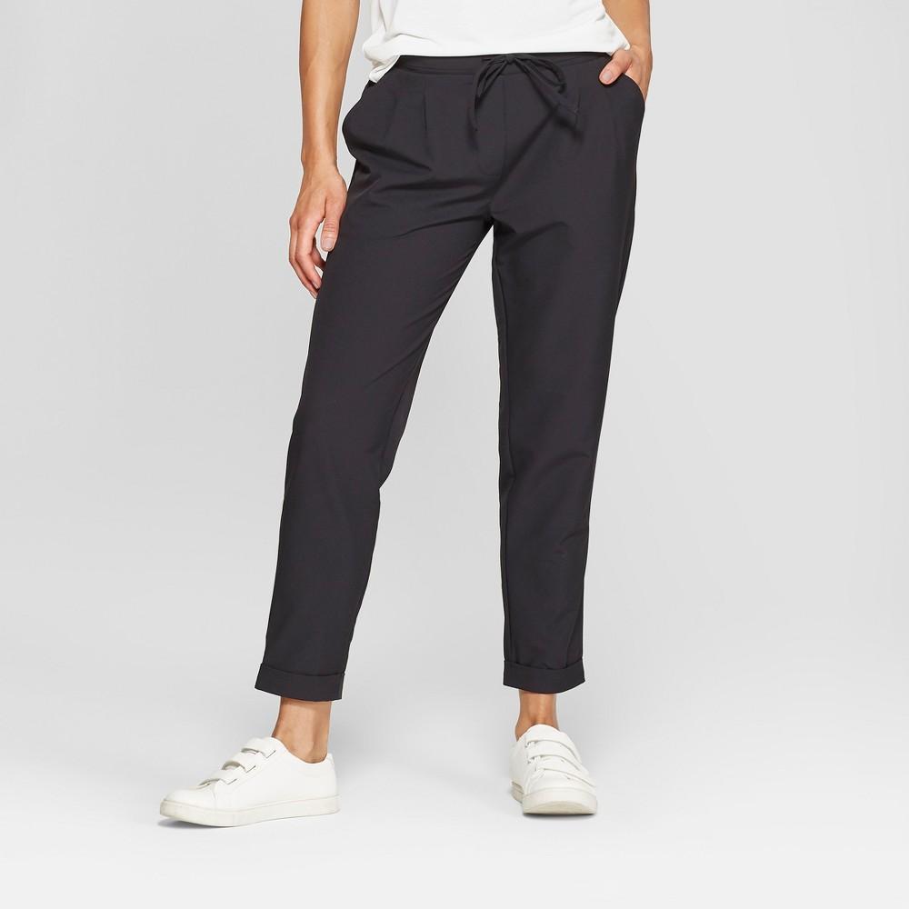 Mpg Sport Women's Woven Cropped Pants - Black Xxl