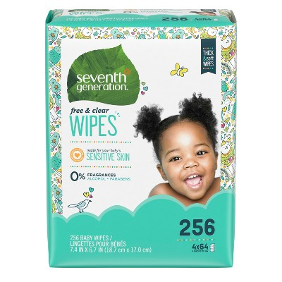 Seventh Generation™ Free & Clear Baby Wipes - 256ct
