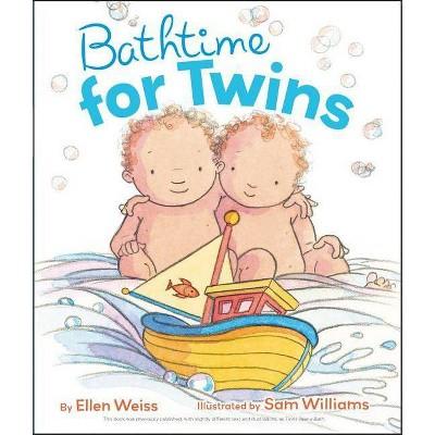 Bathtime for Twins - by Ellen Weiss (Board Book)