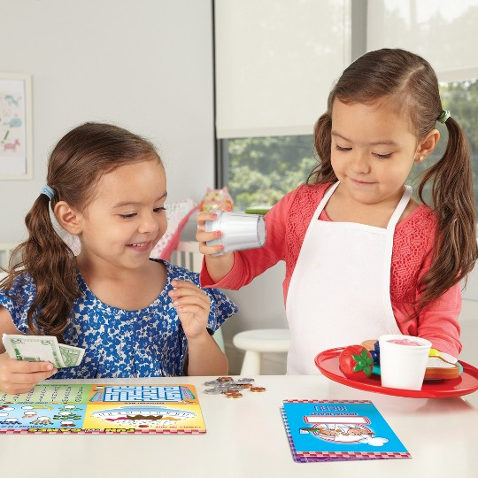 Learning Resources Learn and Serve Play Restaurant - Serve It Up! image number null