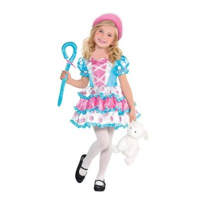 Kids' Little Bo Peep Girl Halloween Costume