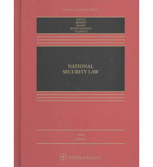 National Security Law (Hardcover) (Stephen Dycus) - image 1 of 1