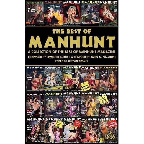 The Best of Manhunt - by  Jeff Vorzimmer (Paperback) - image 1 of 1