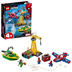 LEGO Super Heroes Marvel Spider-Man: doc Ock Diamond Heist 76134