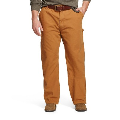 Dickies Men's Big & Tall Relaxed Straight Fit Flannel-Lined Carpenter Duck Jeans