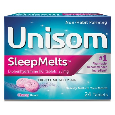 Sleep Aids: Unisom SleepMelts