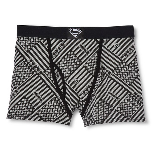 Men's Boxer Shorts Black/White - Warner Bros. L - image 1 of 1