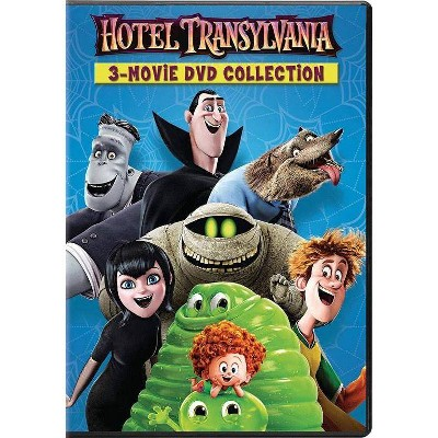 Hotel Transylvania 1, 2 & 3 (DVD)