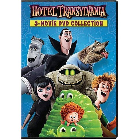 Hotel Transylvania 1, 2 & 3 (DVD) - image 1 of 1