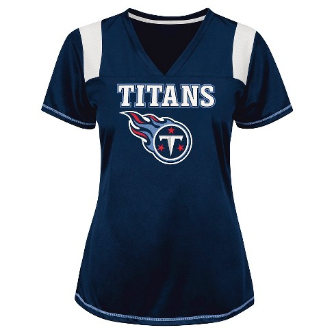 Tennessee Titans Women's Shimmer Top XL - image 1 of 1