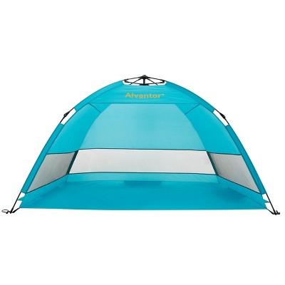 Outdoor Automatic Pop-Up Hub Style Beach Tent - Alvantor