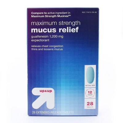 Maximum Strength Mucus Relief Tablets - up & up™