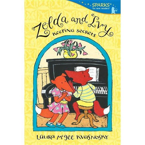 Zelda and Ivy: Keeping Secrets - (Candlewick Sparks (Quality)) by  Laura McGee Kvasnosky (Paperback) - image 1 of 1