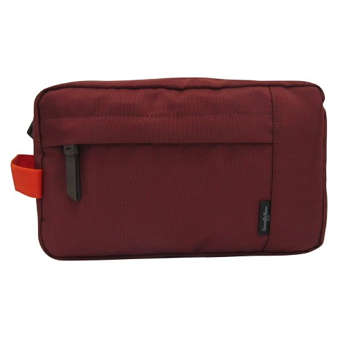 Men's Wash Kit Clutch - Goodfellow & Co™ Red One Size - image 1 of 1
