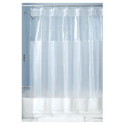 Hitchcock Shower Curtain Frost Clear