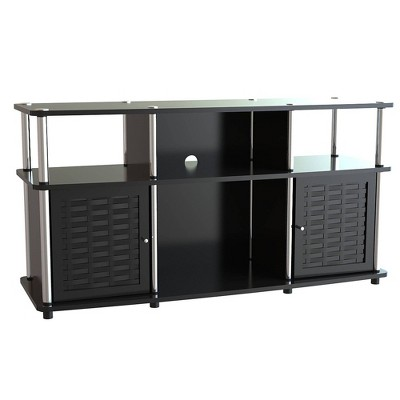 """Chelsea TV Stand for TVs up to 50"""" Black - Breighton Home"""