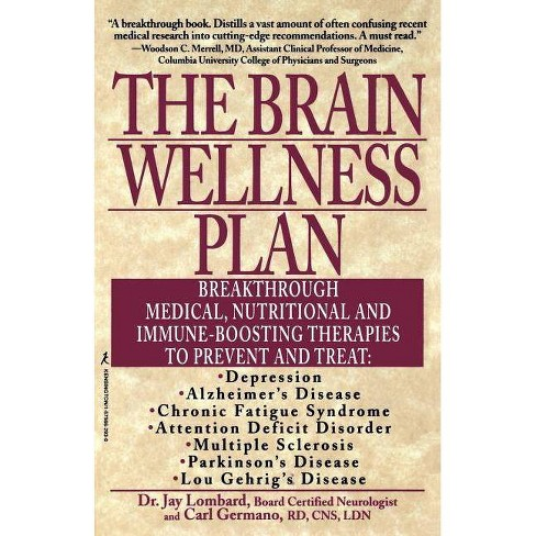 The Brain Wellness Plan - by  Lombard (Paperback) - image 1 of 1