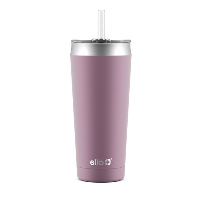 Ello 24oz Beacon Vacuum Stainless Steel Tumbler - Pink