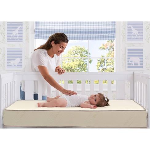 Serta Nightstar Balance Deluxe Firmer Edge Crib & Toddler Mattress