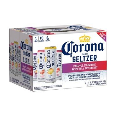 Corona Hard Seltzer Variety Pack #2 - 12pk/12 fl oz Cans