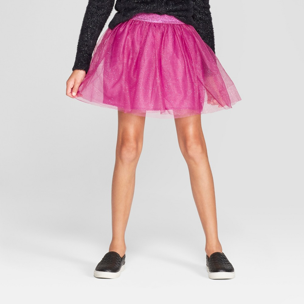 Girls' Tulle Tutu Skirt - Cat & Jack Purple XL
