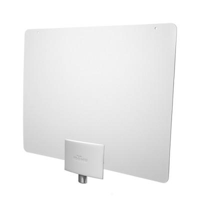 Mohu Leaf+ Amplified Indoor HDTV Antenna - Black/White
