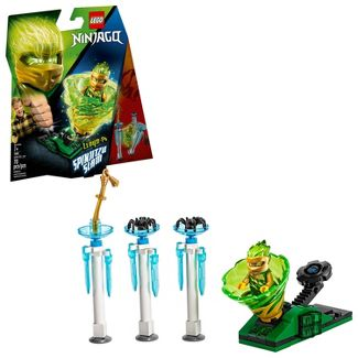LEGO Ninjago Spinjitzu Slam - Lloyd Building Kit with Collectible Lloyd Minifigure 70681