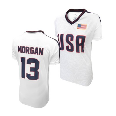 United States Soccer Federation 2020 Women's Alex Morgan White Jersey