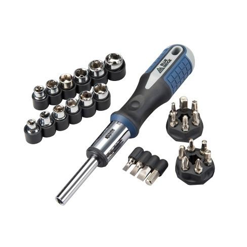 Blue Ridge Tools 26pc Ratcheting Socket and Screwdriving Set - image 1 of 2