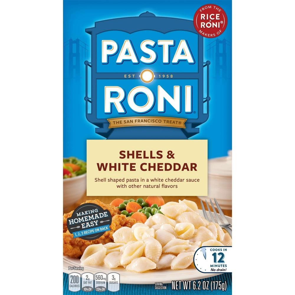 Pasta Roni Shells & White Cheddar 6.2 oz