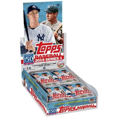 MLB Topps 2019 Baseball Series 1 Trading Card HOBBY Box [24 Packs] - image 1 of 1