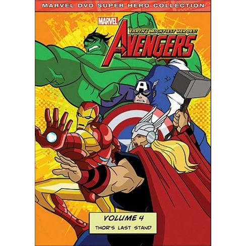The Avengers: Earth's Mightiest Heroes, Vol. 4 (DVD) - image 1 of 1
