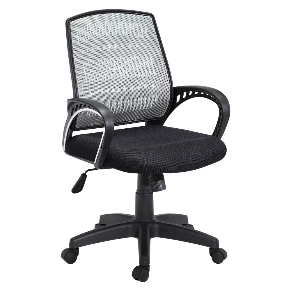 Image of Hodedah Import Office Chair - Gray