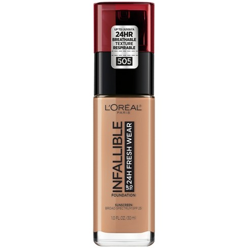 L'Oreal Paris Infallible 24HR Fresh Wear Foundation with SPF 25 - 1 fl oz - image 1 of 4