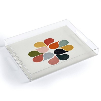 """17"""" x 14"""" Acrylic Showmemars Modern Art Tray - society6"""
