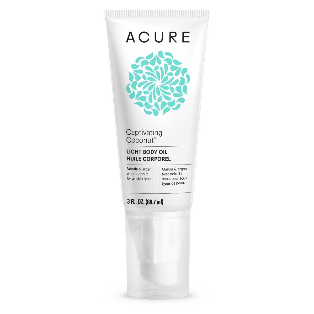 Acure Captivating Coconut Light Body Oil - 3 fl oz