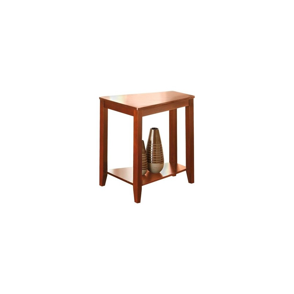 Joel Chairside End Table Oak - Steve Silver, Brown
