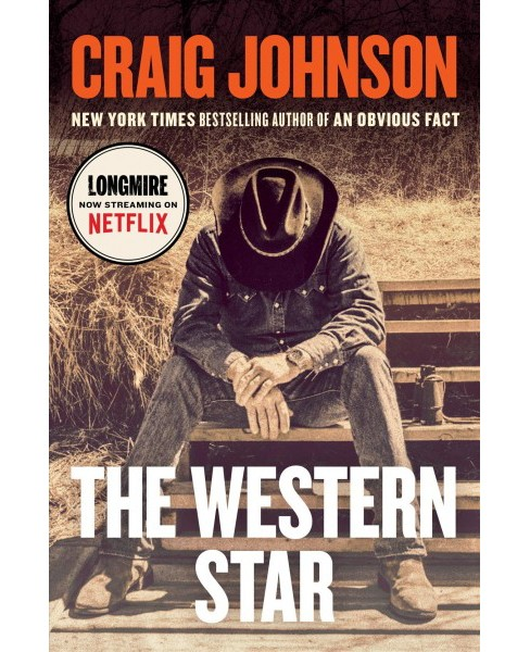 Western Star -  Large Print by Craig Johnson (Hardcover) - image 1 of 1