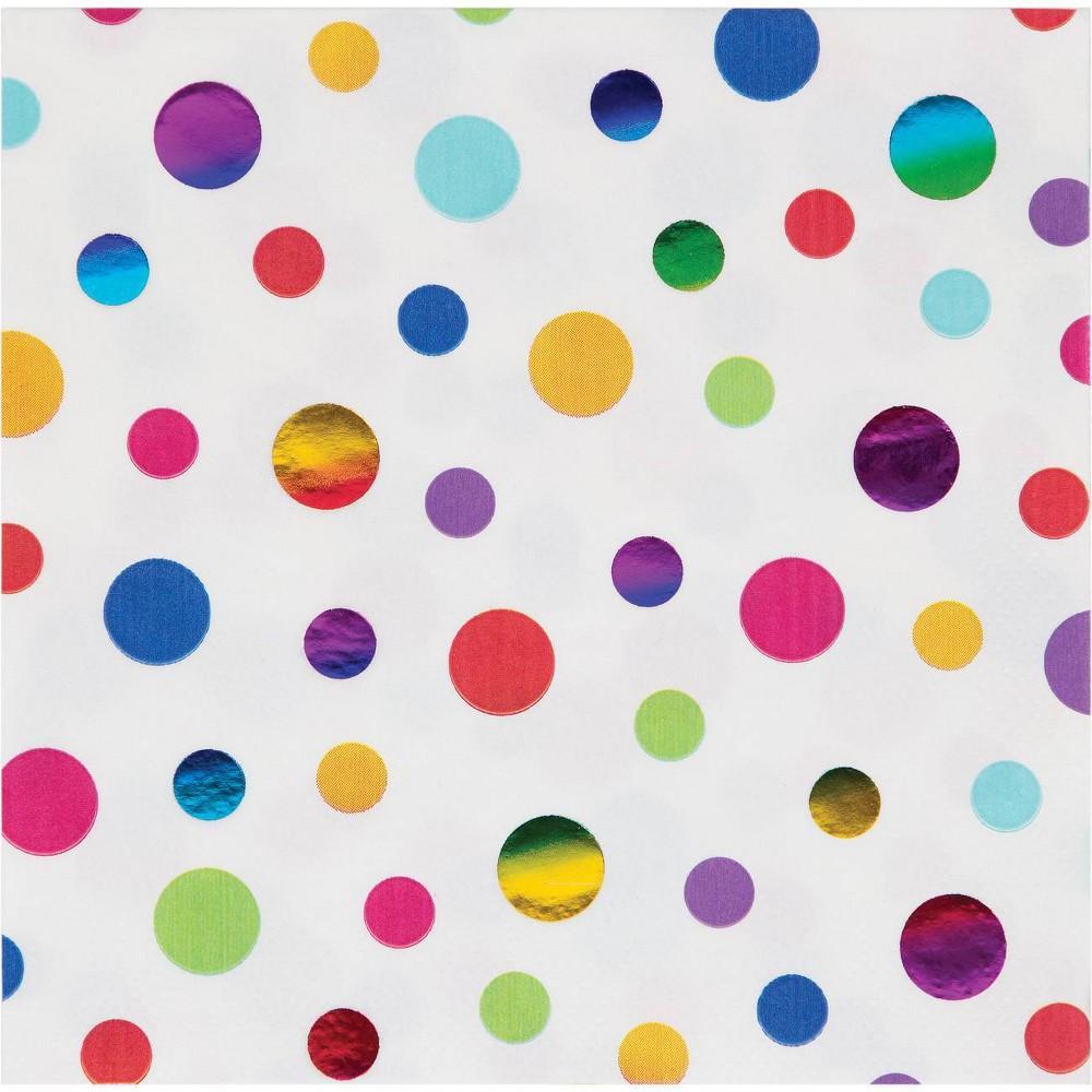 Best Buy 48ct Rainbow Print Disposable Napkins