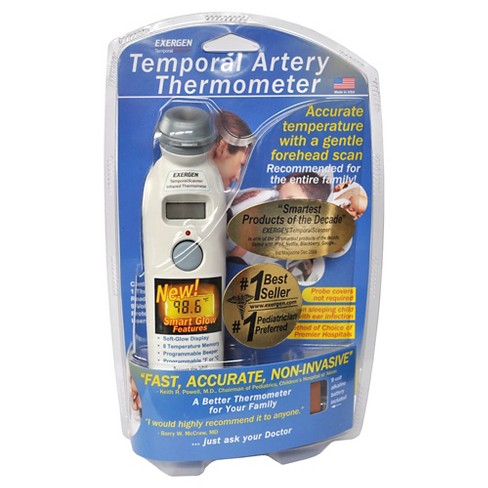 Exergen Temporal Artery Thermometer Target