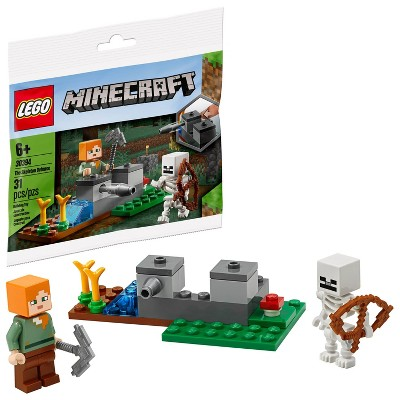 LEGO Minecraft Skeleton Defense Building Kit 30394