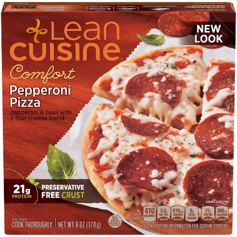 Lean Cuisine Casual Cuisine Traditional Pepperoni Frozen Pizza - 6oz - image 1 of 3