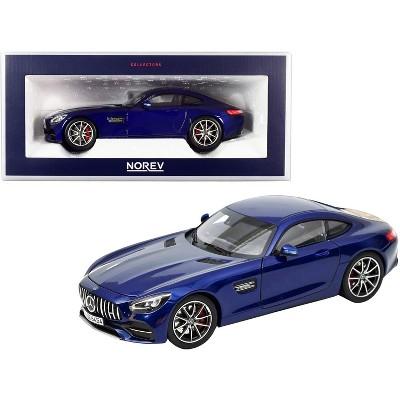 2019 Mercedes Benz AMG GT S Dark Blue Metallic 1/18 Diecast Model Car by Norev