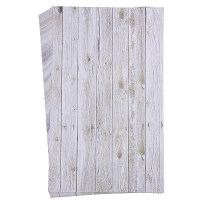 Best Paper Greetings 48 Sheets Whitewash Rustic Wood Stationary Paper for Arts Crafts, Legal Size 8.5 x 14 in