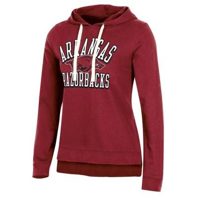 NCAA Arkansas Razorbacks Women's Fleece Hooded Sweatshirt