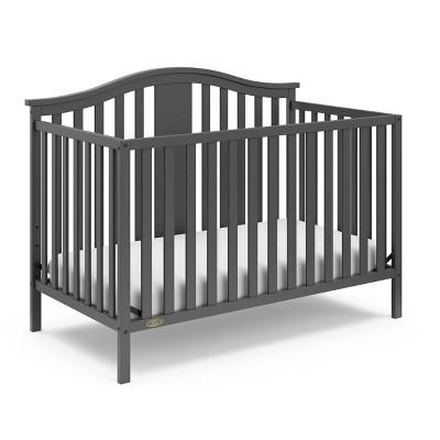 Graco Solano 4-in-1 Convertible Crib - Gray