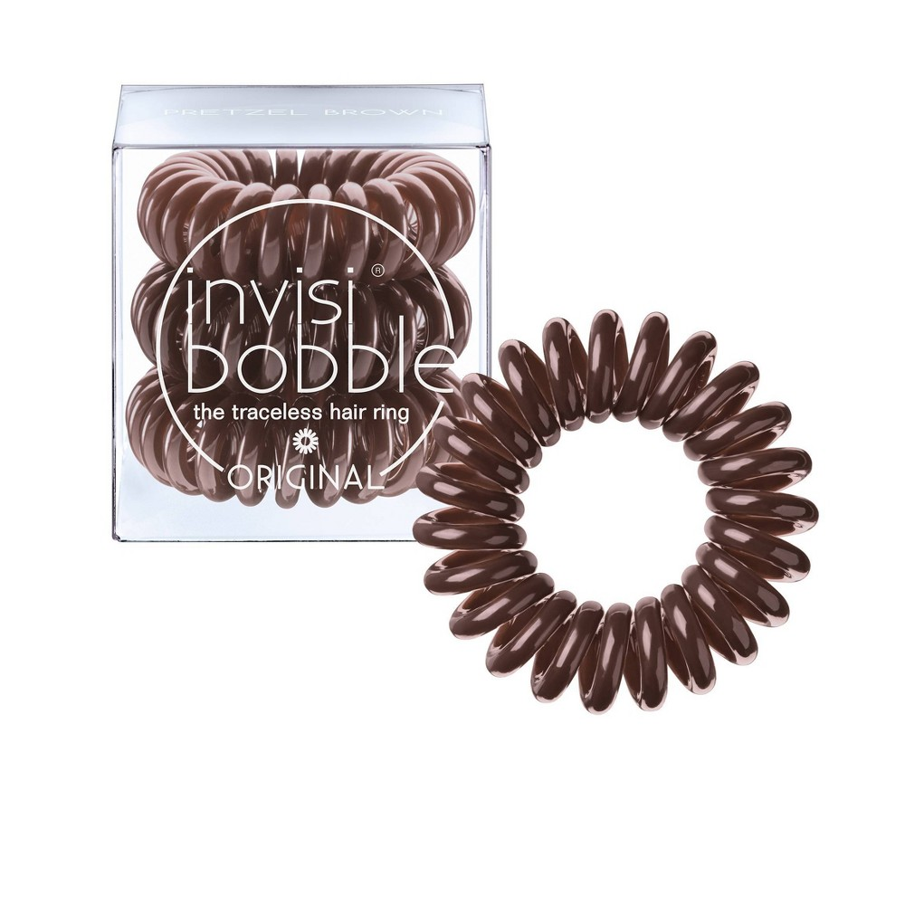 Image of Invisibobble Original Hair Ring - Pretzel Brown
