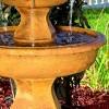 """40"""" Tropical 3-Tier Outdoor Garden Water Fountain - Sunnydaze Decor - image 3 of 4"""